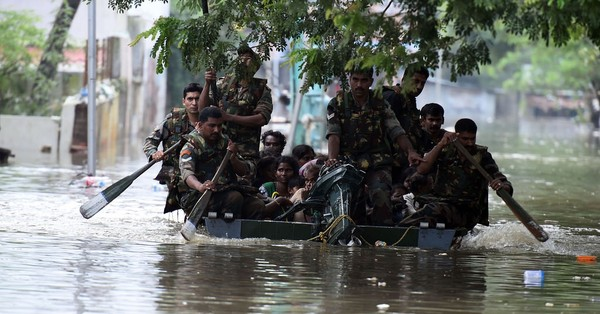 Rain recedes in Chennai, NDRF steps up rescue and relief operations