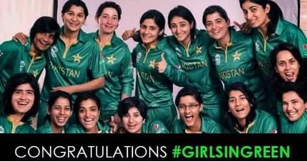 Pakistan beat India in Delhi, but on Twitter, it was a win for women's cricket