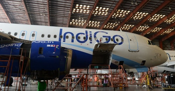 Two charts show how IndiGo wants an aircraft fleet larger than all Indian airlines combined