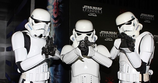 Darth Vader in church and R2-D2 in the White House: 'Star Wars' mania takes over