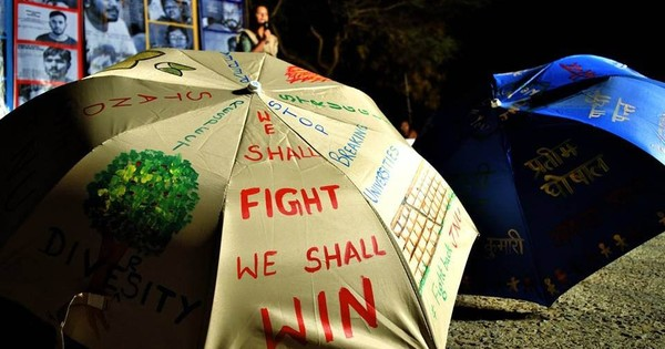 It's a battle for all of us: Two nights with the JNU hunger strikers at Freedom Square