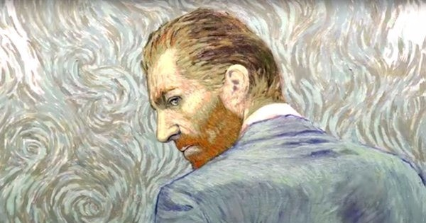 A new film on Vincent Van Gogh stars the artist's own work