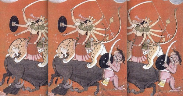 Guess what? Durga and Mahishasur actually share the same origin