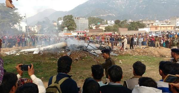 Six Vaishno Devi pilgrims, pilot dead in helicopter crash in Jammu