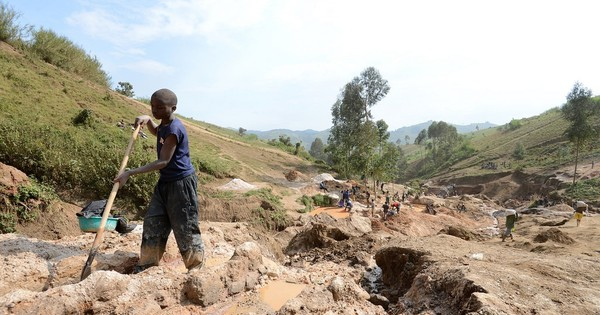 Children as young as seven are mining cobalt for smartphone batteries: Amnesty