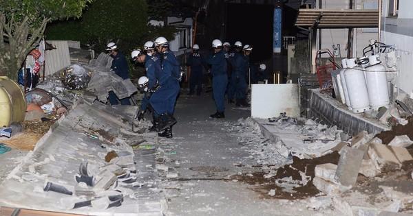 Nine dead, several evacuated as Japan reels from earthquake