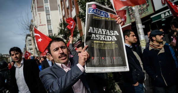 Takeover of opposition newspaper is a death warrant for free speech in Turkey