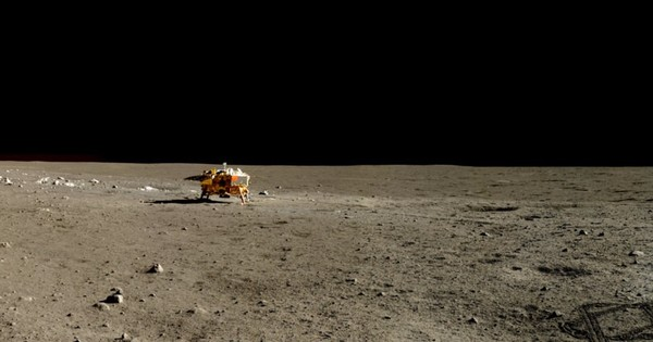 In photos: China released true colour, high definition images from the moon's surface
