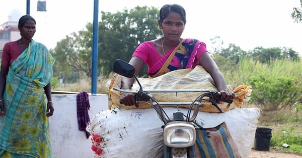 Meet Chandra: Small farmer, big heart, miracle moped