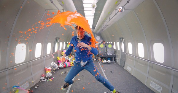 Watch Ok Go's latest music video, shot in zero gravity (features no gravitational waves)