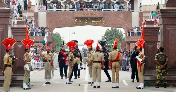 Those choreographed contortions on the Wagah border are coming to India's border with Bangladesh too