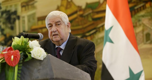 Syrian foreign minister says outside troops entering the country will go home 'in coffins'