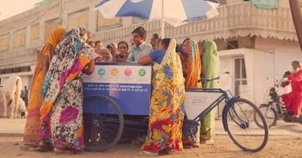 Sundar Pichai wants to take the internet to India's rural women – with a cycle