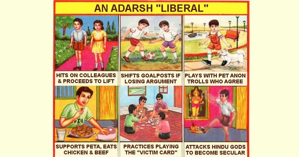 Twitter is at it again: #AdarshLiberals and #AdarshBhakts battle it out over festivals
