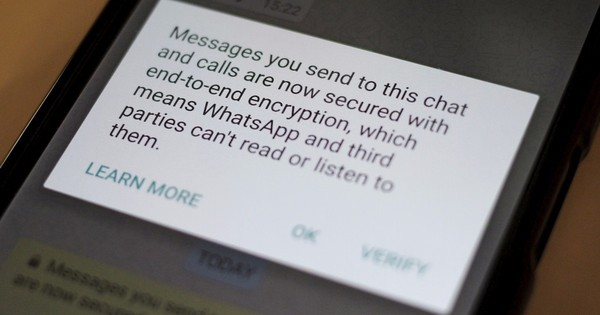 WhatsApp's end-to-end encryption should not provide safe haven to cyber criminals, says US