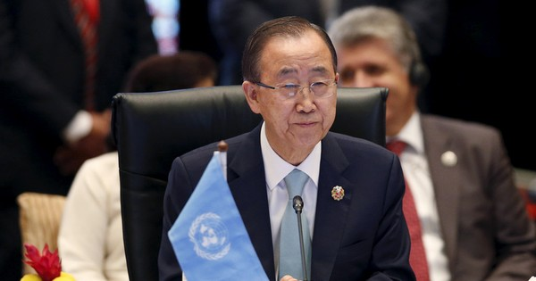 It is time for the UN to elect a woman secretary-general, says Ban Ki-moon