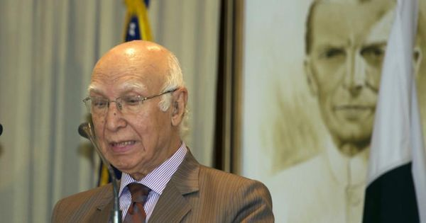 Heart of Asia: Simplistic to blame one country for violence, says Sartaj Aziz
