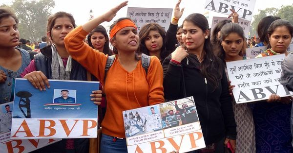 Chilling effect: ABVP threats have prompted Delhi colleges to apply unwritten censorship code