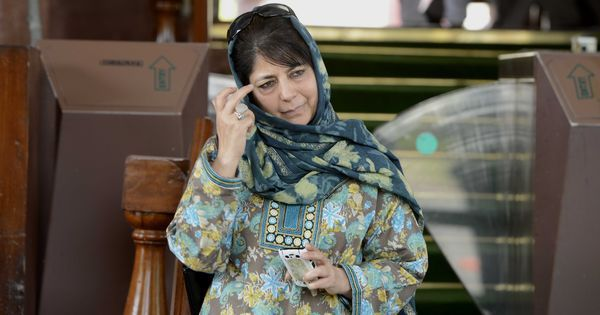 'Jammu and Kashmir cannot be treated as enemy territory', says Mehbooba Mufti after resigning