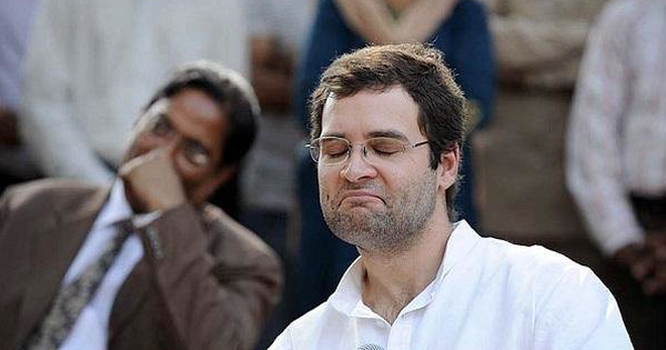 Rahul Gandhi seriously tried to claim that Congress is not a 'dictatorial' party