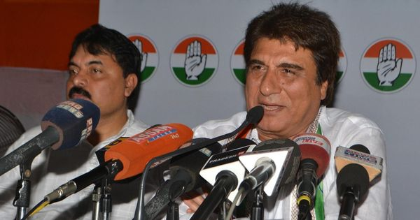 UP Congress chief Raj Babbar offers to resign after party's poor performance in Assembly polls