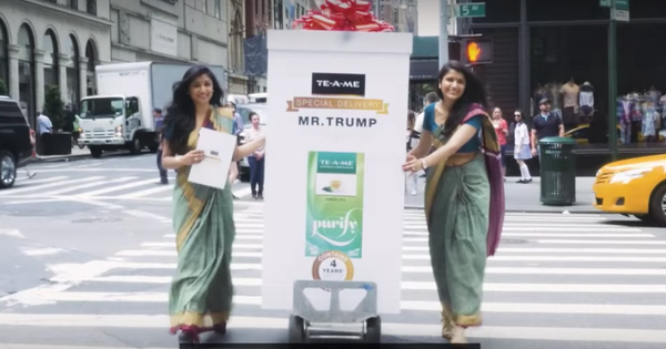 That tea for Trump video? It was made by an Indian agency for an Indian client