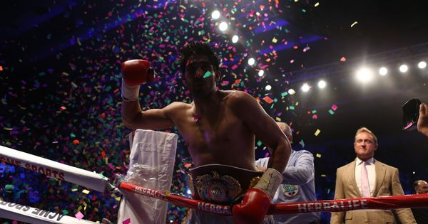 Vijender Singh defends WBO Asia Pacific super middleweight championship through knockout win