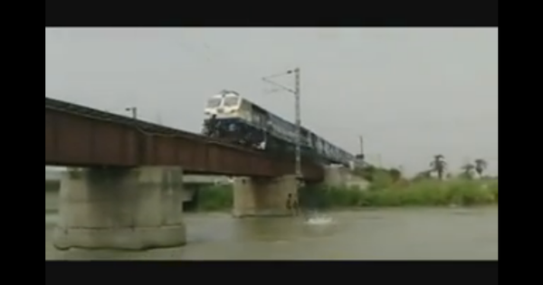 Watch: There's more people doing even more dangerous stunts on trains