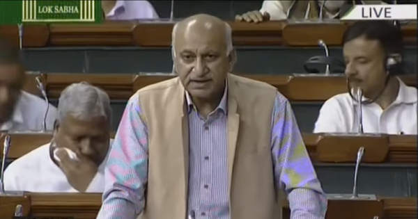 'It's an existential fight': Watch MJ Akbar's viral Lok Sabha speech on Kashmir