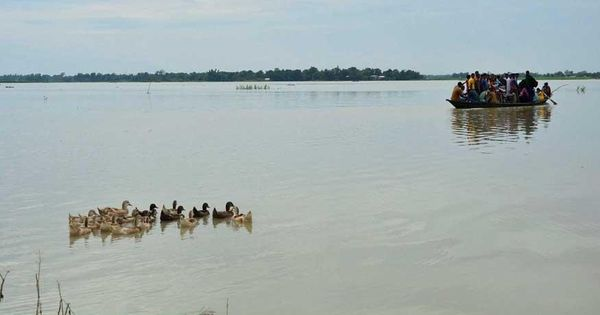 Centre to send team to assess floods in Assam, says Rajnath Singh