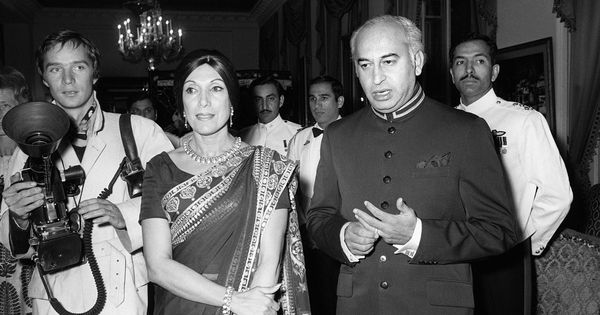 Did floods bring the end of Zulfiqar Ali Bhutto's regime?