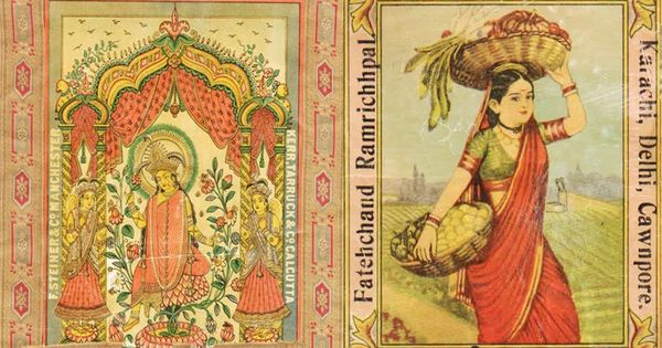 A look back at the forgotten textile mill labels from British India