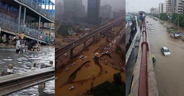 'From Gurugram to Venice in one day': Twitter takes the humour route after big traffic snarl