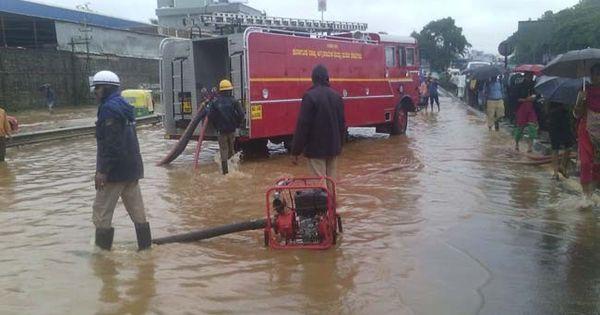 Bengaluru's rain mayhem: Flood rescue at Kodichikkanahalli, fishing on roads near Madivala