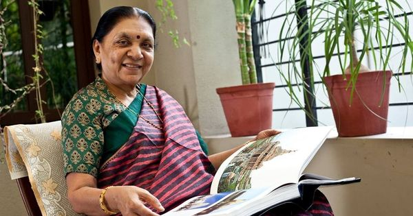 Anandiben Patel named governor of Madhya Pradesh