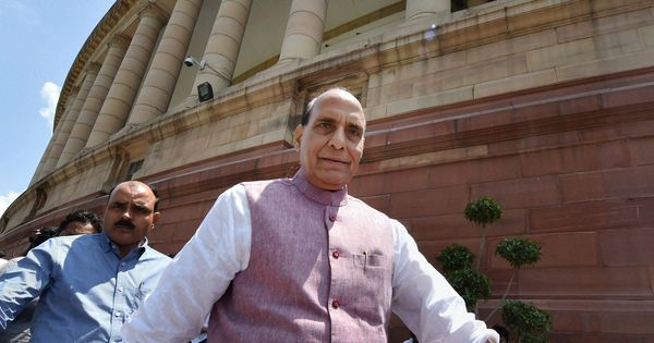 The NIA sends fear down the spine of those funding terrorism, says Rajnath Singh