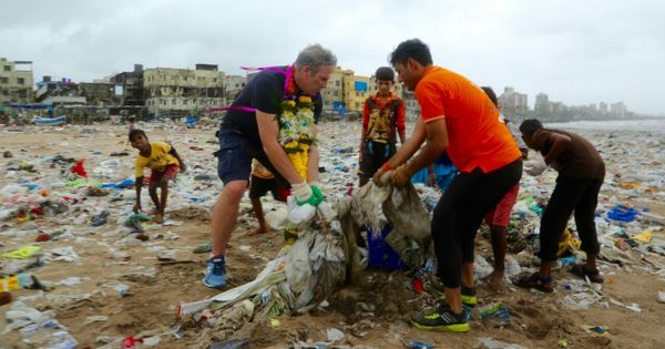 Watch: Mumbai residents undertook the world's largest clean-up of its kind to restore Versova beach