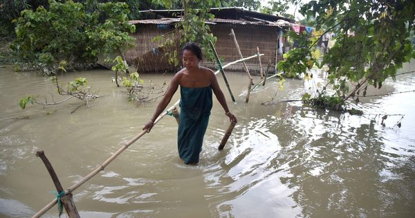 Extreme rainfall events in India are linked to man-made emissions, finds study