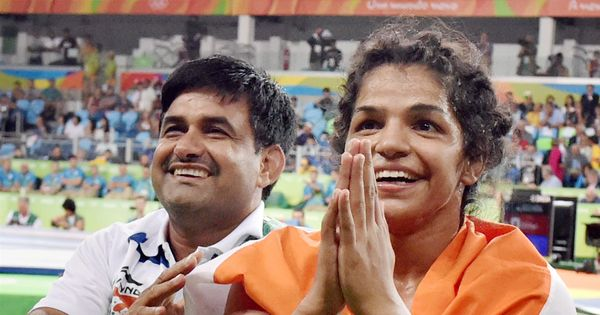 Olympic bronze medallist Sakshi Malik awarded Rs 2.5 crore and a job by Haryana government