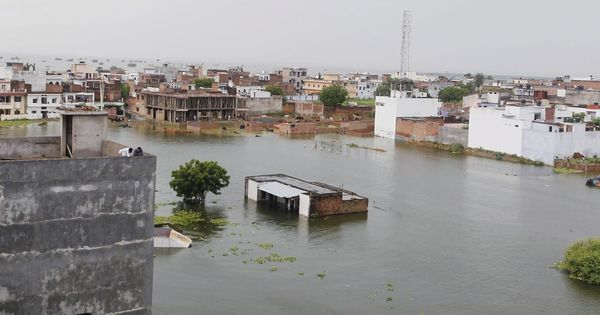 Worsening flood situation forces schools to shut down in parts of Uttar Pradesh