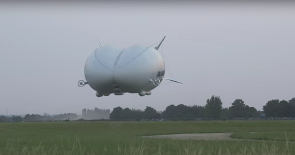 Watch: The world's largest aircraft 'Airlander 10' makes a crash landing (very slowly)