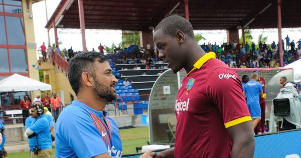 Did Carlos Brathwaite and the match officials come between India and a win in the second T20I?