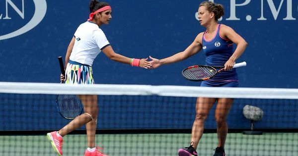 Tennis: Sania Mirza and Barbora Strycova are through to the semi-finals of the Pan Pacific Open