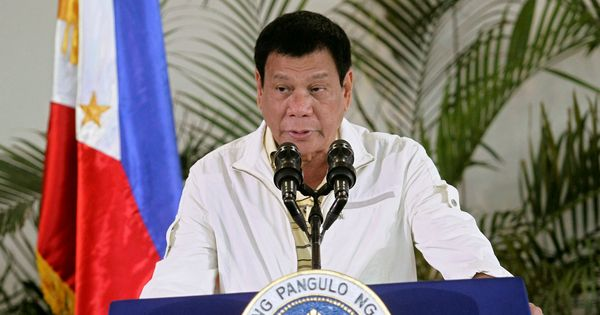 Philippines: I told him he'd be killed if caught, president says on son accused of drug trafficking