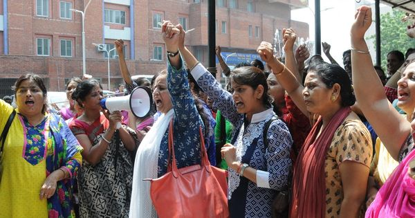 Why nurses go unheard in India – even when they strike