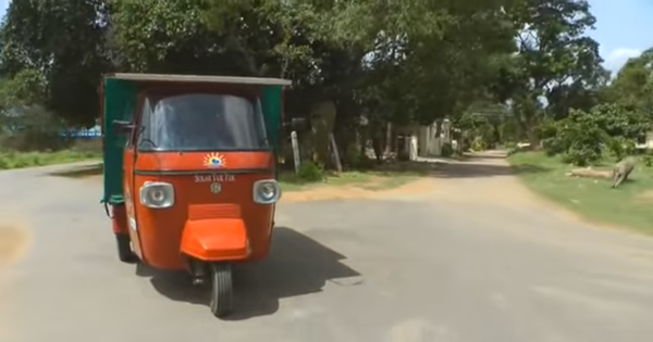 Watch: This solar-powered tuk tuk travelled all the way from India to the UK (with no emissions)