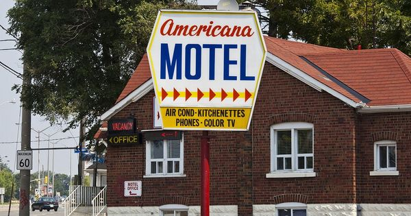 The twilight of the mom and pop motel in the US