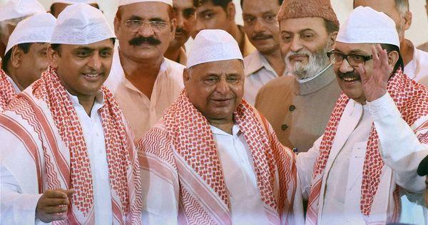 Yadav vs Yadav in Uttar Pradesh is father (once again) reminding son who's boss