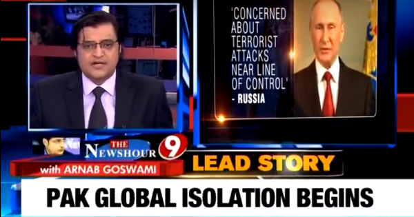 Far from making us safer, India's chest-thumping nationalist media is hurting the Nation
