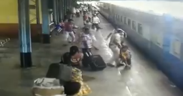 Watch this miraculous rescue caught on camera at Lonavala station